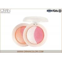 Buy cheap Multi - Colored natural shimmery pink blush Powder Healthy Mineral Ingredient from wholesalers