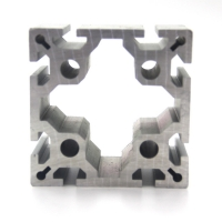 Buy cheap 80X80 Anodizing T5 6061 Aluminum Extrusion product