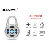 Buy cheap Stainless Steel Shackle Master Lock Bluetooth Smart Padlock Silver Color OEM Acceptable product
