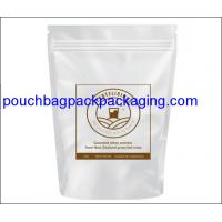 Buy cheap Stand up pouch, Aluminum Foil Protein Powder Bag Dried Snack Packaging product