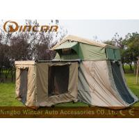 Buy cheap Waterproof Car Roof Top Tent And Awning , Heavy Duty Canvas Tents For Camping product