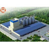Buy cheap Capacity 20T/H Animal Feed Production Line With Raw Materials Silo product