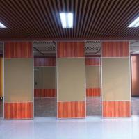 Buy cheap Acoustic Conference Hall Office Partition Walls Melamine Finish Customized from wholesalers