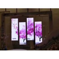 Buy cheap Advertisement Poster Mobile LED Screen P2.5 1000 Nits Front Access Maintenance from wholesalers