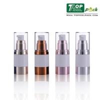 Buy cheap Transparent Body Airless Pump Bottles Airless Vacuum Pump Bottle For Lotion Serum product