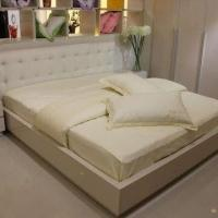 Buy cheap MDF Bed with High Glossy Painting product