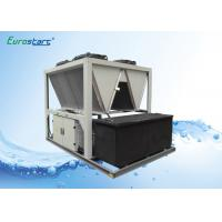 High EER R407C Air Screw Industrial Water Chiller For Grinder Industry