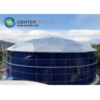 Buy cheap Corrosion Resistant Glass Lined Steel Biogas Tanks product