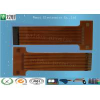 Buy cheap Sink Gold 2mm Pitch FPC Flexible Printed Circuit , Silkscreen Flex Circuit Board Connectors product