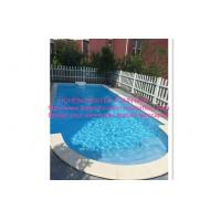 Buy cheap Above Ground Automatic Pool Cover Project Transparent Blue Color With Motor Roller product