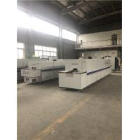 Buy cheap Industrial Electric Glass Packaging Furnace 600mm Mesh Belt Width Modular Design product