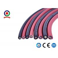 Buy cheap Single Core Solar Cable 6mm2 0.8mm Thickness product