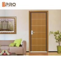 Buy cheap Modern Aluminum MDF Interior Doors For Home / Hotel And Apartment product