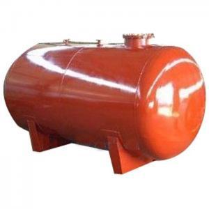 Buy cheap Glass Lined Horizontal Storage Tank Glass lined Horizontal Storage Container product