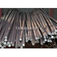 Buy cheap 0Cr21Al4 Lead Out FeCrAl Alloy Round Bar / Square Rod For Electric Furnace product