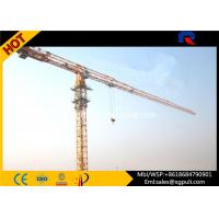 Buy cheap Multi Color Hydraulic Truck Crane , Lifting Construction Equipment 6 Ton Max. Load product