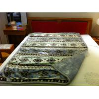 Buy cheap Single Bed Blankets Quilted Blanket / Raschel Blanket 140X200CM product