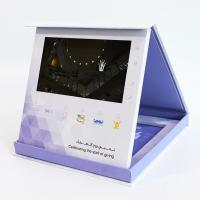 Buy cheap Hardcover 7 Inch LCD Video Brochure Business Gift Custom Printing video pack gift box product