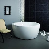Quality Eco - friendly Freestanding Round Tub / Deep Bathtubs For Small Bathrooms for sale