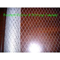 Quality Galvanised Steel Expanded Metal Sheet Perforated For Air Filter , 30m Roll for sale