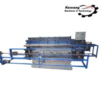 Buy cheap High Power Fully Automatic Chain Link Machine PLC Control 50HZ Frequency from wholesalers