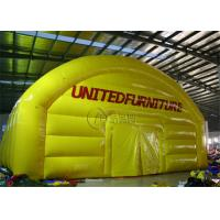 Buy cheap Transparent Inflatable Outdoor Tent Colorful Commercial Grade Light Weight from wholesalers