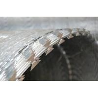 Buy cheap BTO-22 BTO-30 Stainless Steel Razor Barbed Wire Coil For Boundary Segregation product
