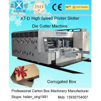 Buy cheap Double Side Automatic Flexo Printer Slotter Die-Cutter Stacker Machine from wholesalers