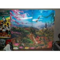 Buy cheap 4mm PS lenticular board lenticular effect printing3D Lenticular Picture Printing by injekt printer or UV offset printer product