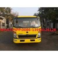 Buy cheap HOWO Light Asphalt Sprayer truck 4x2 6Wheeler With Yunnei engine 115hp from wholesalers