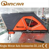 Buy cheap Orange Automotive Roof Mounted Tent 212 * 132cm 250kgs Capacity With Printing Logo product