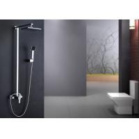 Buy cheap Brass Body Bathroom Shower Hardware , Complete Bathroom Shower Sets ROVATE product