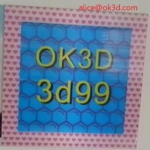 Buy cheap OK3D 360-degree three-dimensional depth fly eye lens sheet photo frames 360° 3d frame dot lenticular photo frame product