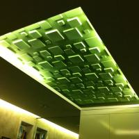 Buy cheap Soundproof 3d Ceiling Panel Artifical Stone Wall Alternative wall Coverings for Office / Home product