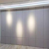 Buy cheap MDF Decorative Sound Insulation Operable Malaysia Partition Wall For Banquet from wholesalers
