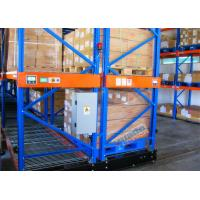 Quality Warehouse Powered Mobile Racking , 10 Meters Height Movable Racks Storage For Freezers for sale