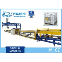 Buy cheap Hwashi Automatic IBC Tubular Frame Mesh Six-Head Spot Welding Machine ,Container from wholesalers