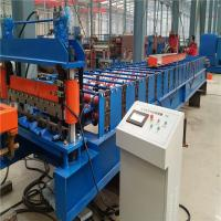Buy cheap High speed 10-15m/min low noice corrugated metal plate roll forming machine from wholesalers