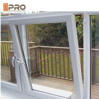 Buy cheap Durable Tilt And Turn Aluminium Windows Swing Open Style Anodized Profile Finish product