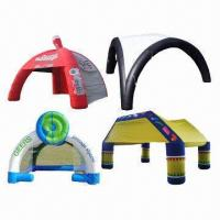 Buy cheap Inflatable Dome Tents, RoHS Directive-compliant product