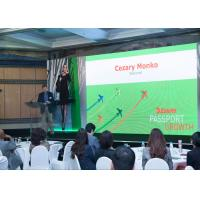 Buy cheap P2.5 Indoor Full Color LED Display , LED Wall Screens For World Trade Center In Moscow product