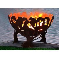 Buy cheap Fashionable Design Corten Steel Fire Pit Bowl Superior Corrosion Resistance product