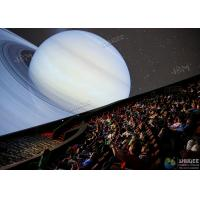 Quality Giant 4D Dome Cinema With Snow And Raining Effect Hemispherical Ball Curtain for sale
