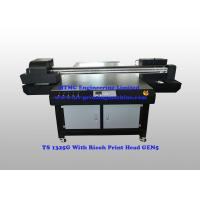 Buy cheap Furniture Flatbed Wood UV Printing Equipment With Ricoh GEN5 Print Head product