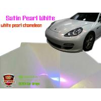 Buy cheap Satin Pearl White Car Wrapping Vinyl Film - different models product