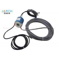 Buy cheap IP54 Power / signal through bore slip ring RJ45 / USB Connector from wholesalers