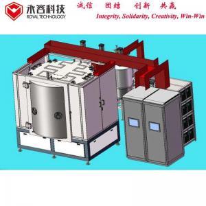 Buy cheap Ceramic  Wash Basin PVD Gold Coating Equipment , TiN  PVD Vacuum Plating Machine product