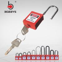 Buy cheap Durable Safety Lockout Padlocks Stainless Steel Shackle Nylon Body With Master Key product