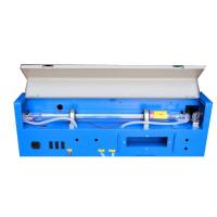 Buy cheap CO2 3020 Portable Laser Engraving Cutting Machine , 40w Miniature CNC Laser from wholesalers