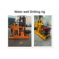 High Speed Geological Drilling Rig , Engineering Drilling Rig For Geological Investigation